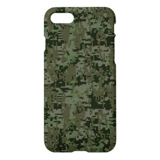Deep Woods Camo Background iPhone 7 Case