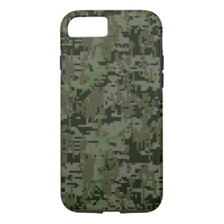 Deep Woods Digital Camouflage Camo Pattern iPhone 8/7 Case