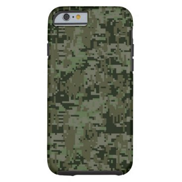 AmericanStyle Deep Woods Digital Camouflage Camo Pattern Tough iPhone 6 Case