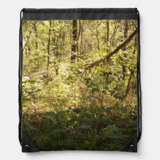 Deep Woods Drawstring Backpack