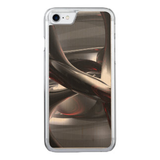 Deep Wounds Abstract Carved iPhone 7 Case
