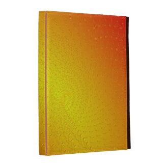 Deep yellow iPad case