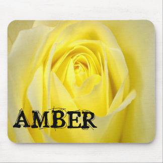 Deep Yellow Rose Mouse Pad