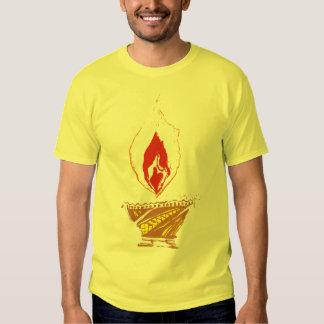 Deepak: Lámpara de Diwali Playera