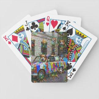DeepDream Berlin, Trabbi Bicycle Playing Cards