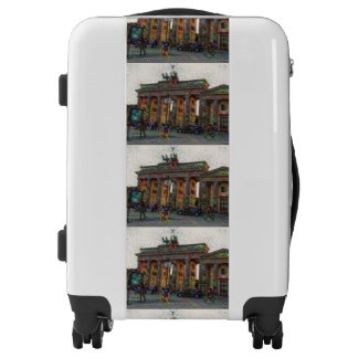DeepDream Cities, Brandenburg Gate, Berlin Luggage