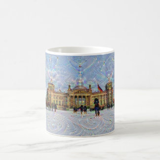 DeepDream Cities, Reichstag building, Berlin Coffee Mug