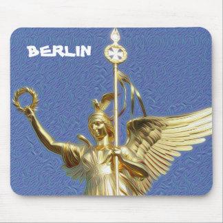 DeepDream Cities, Siegessäule, Berlin Mouse Pad