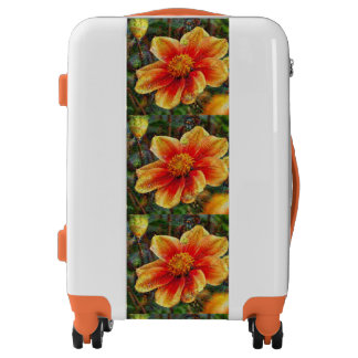 DeepDream Flowers Luggage