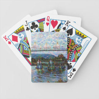 DeepDream Pictures, Boat Bicycle Playing Cards
