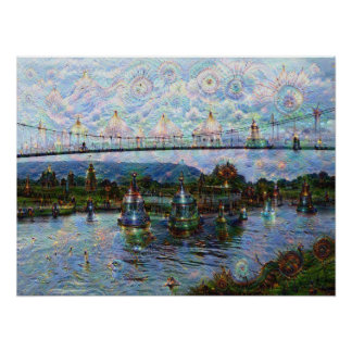 DeepDream Pictures, Boat Poster