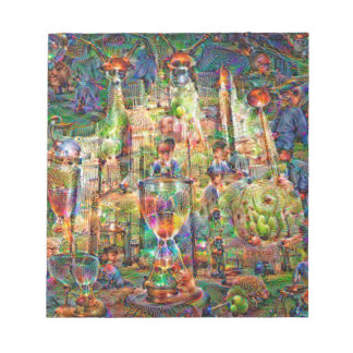 DeepDream Pictures, Cathedral Notepad