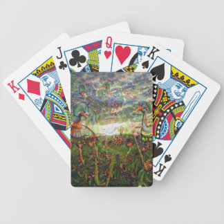 DeepDream Pictures, Landscapes Bicycle Playing Cards