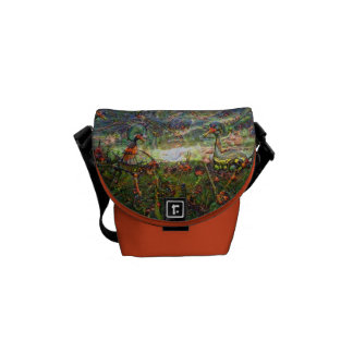 DeepDream Pictures, Landscapes Courier Bag