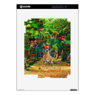 DeepDream Pictures, Landscapes Decal For iPad 2