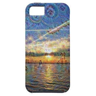 DeepDream Pictures, Landscapes iPhone SE/5/5s Case