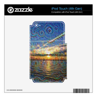 DeepDream Pictures, Landscapes iPod Touch 4G Skins