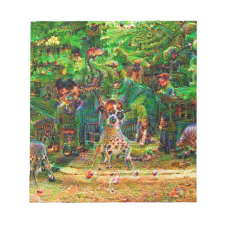 DeepDream Pictures, Landscapes Notepad