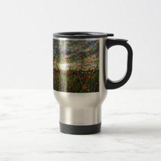 DeepDream Pictures, Landscapes Travel Mug