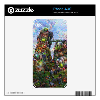 DeepDream Pictures, Rocks Decal For The iPhone 4