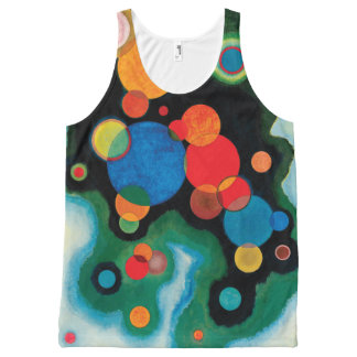 Deepened Impulse by Wassily Kandinsky All-Over-Print Tank Top