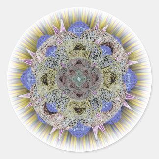 Deeper Arts Mandala Sticker