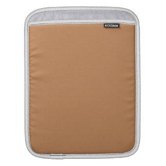 Deeper Sandy Beige Caramel Cafe Au Lait Color Sleeve For iPads