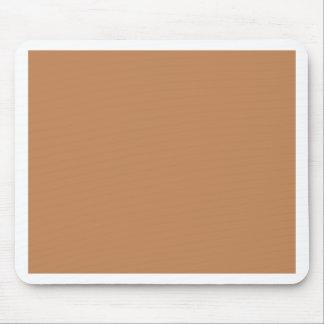Deeper Sandy Beige Caramel Cafe Au Lait Color Mouse Pad