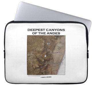 Deepest Canyons Of The Andes Picture Earth Laptop Sleeve