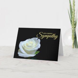 Deepest Sympathy Condolence Card