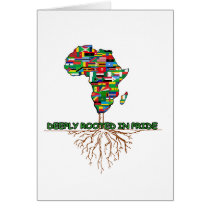Deeply Rooted BHM Notecard