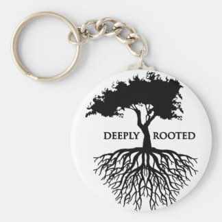 Deeply Rooted Keychain