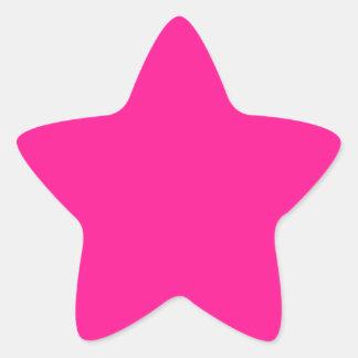 DeepPink Star Sticker