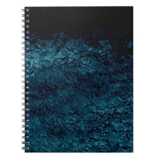 Deeps del océano spiral notebooks