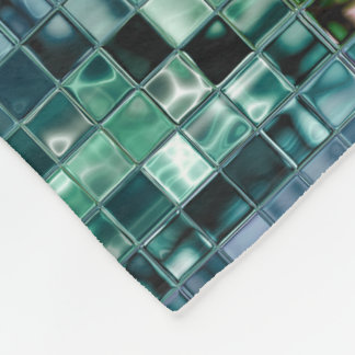 DeepSea Liquid Custom Mosaic Art Personalized Gift Fleece Blanket
