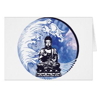 Deepwater Buddha Wave Card