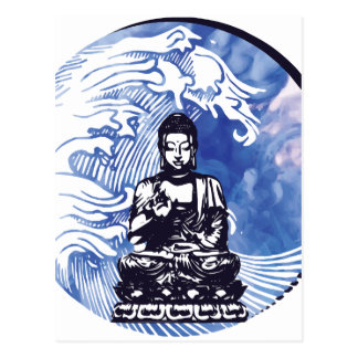 Deepwater Buddha Wave Postcard
