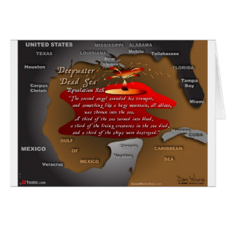 DeepWater Dead Sea Revelation 8:8 Card