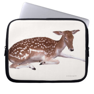 deer 2 laptop sleeve