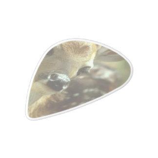 deer-33 white delrin guitar pick