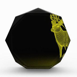 Deer abstract acrylic award