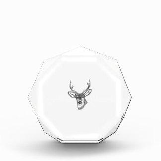 Deer Acrylic Award
