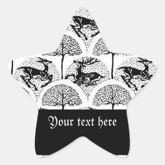 Deer Amongst The Trees, Sticker