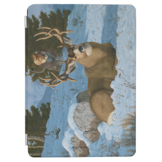 Deer and Cougar iPad Cover