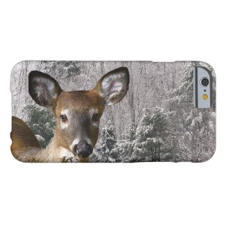 Deer and Frosty Hills iPhone 6 Case