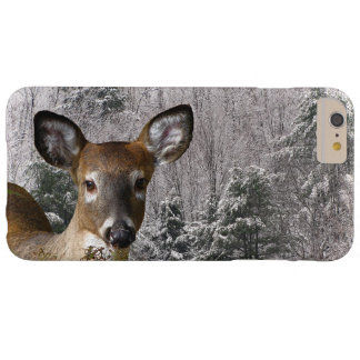 Deer and Frosty Hills iPhone 6 Plus Case