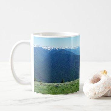 McTiffany Tiffany Aqua Deer and the Olympics Coffee Mug