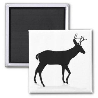 Deer Animal Silhouette Magnet