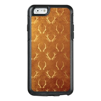 Deer Antlers Buck Brown Animals Nature Hunting Otterbox Iphone 6/6s Case by SterlingMoon at Zazzle