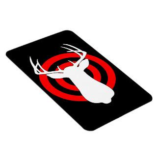 Deer Antlers Bullseye Magnet